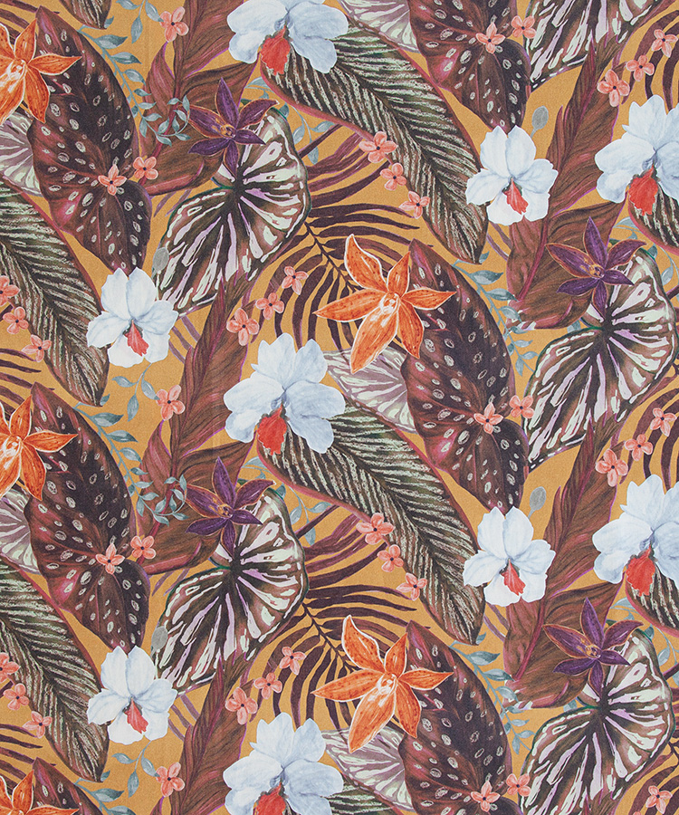 FABRIC FOR DECORATION HAVANA DIGITAL PRINT WITH PROTECTION - 5646 D
