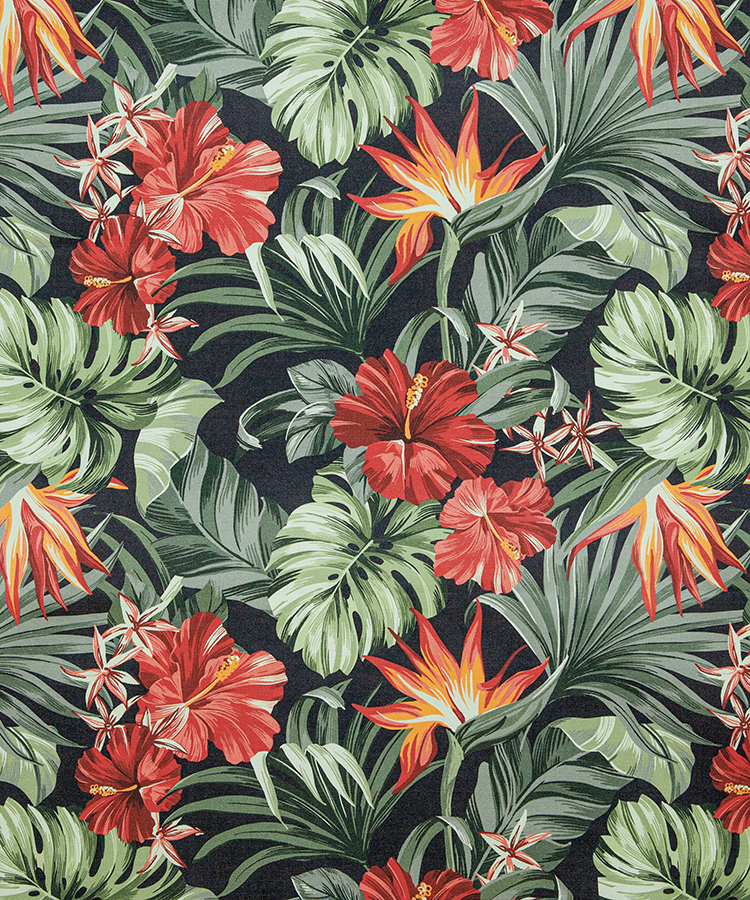 FABRIC FOR DECORATION HAVANA DIGITAL PRINT WITH PROTECTION - 5652 D